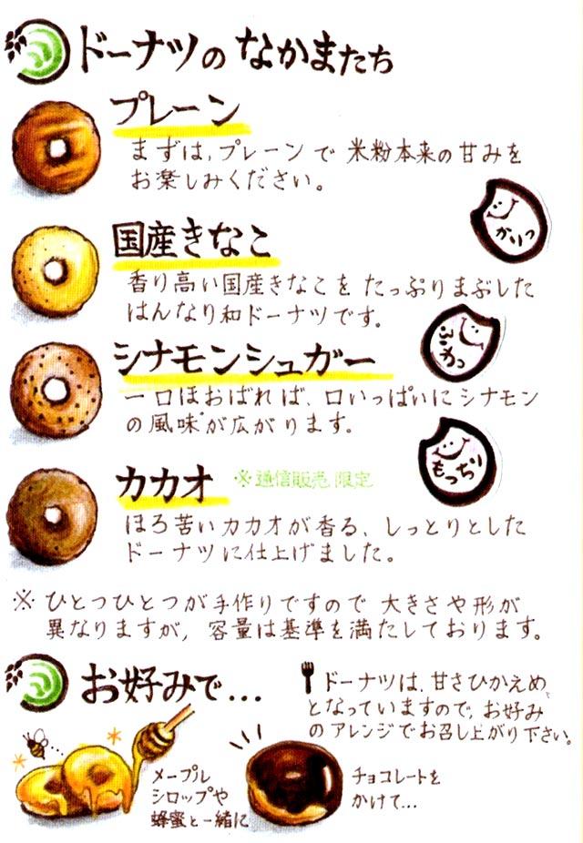 KOBEべいくろーるのドーナツの仲間たち